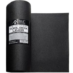 Professional Tool Box Liner and Drawer Liner - Black 18 Inch
