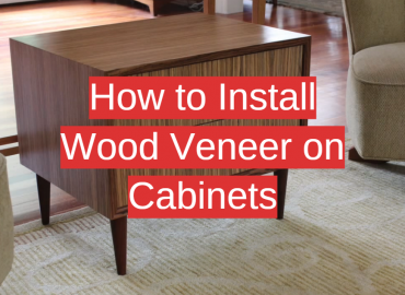 How to Install Wood Veneer on Cabinets